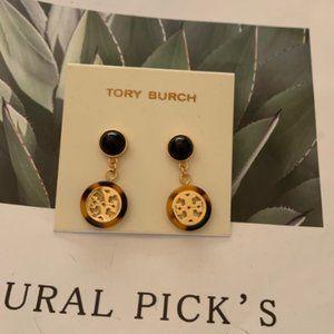 Tory burch resin earrings